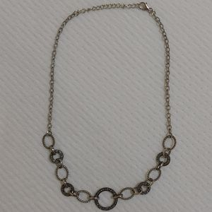 Pretty marcasite silver necklace